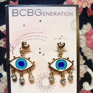 BCBGgeneration Evil Eye Earrings